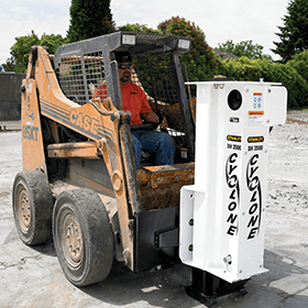 Drop Hammer Cyclone demoliton equipment- hydraulic tools sales and rentals in Winnipeg