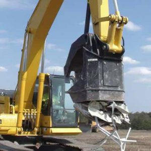 demolition magnet grapple grappler hydraulic attachment rent buy sell lease