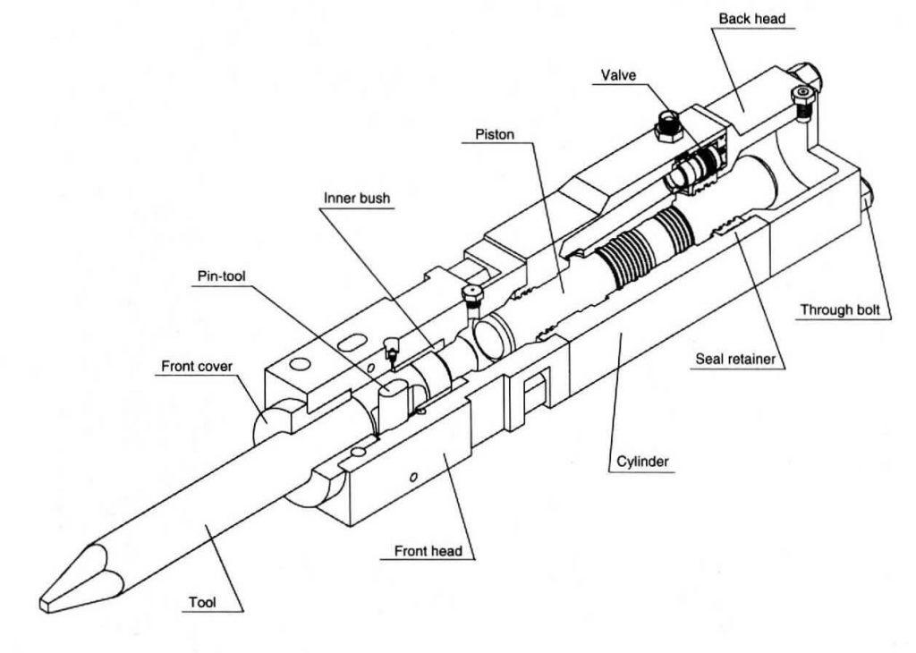parts listing hydraulic listing drawing