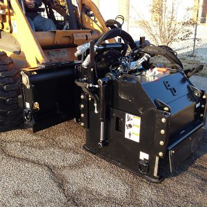 Cold Planer road asphalt refinishing hydraulic attachment