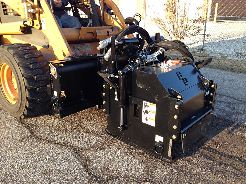 Cold Planer road asphalt refinishing hydraulic attachment