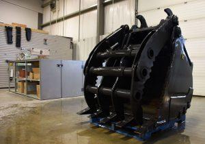 bucket attachment hydraulic - demolition construction heavy duty attachment
