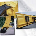 skid steer blade attachment snow removal