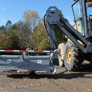 brush cutter spreader attachment mulcher hydraulic attachments gilbert dealer in manitoba and saskatchewan