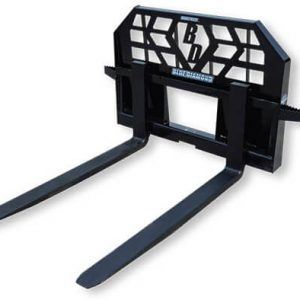 Blue Diamond Heavy Duty skid steer pallet forks