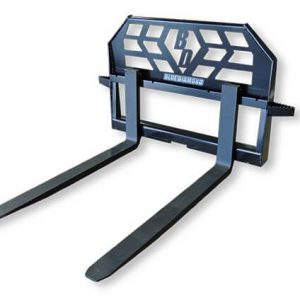 standard pallet forks tractor skid steer attachments from blue diamond