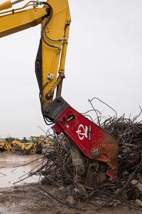 Stanley Labounty MHP350_B concrete pulverizer processor attachment for excavator