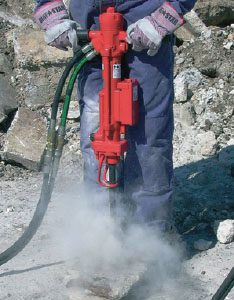 hydraulic hand held rock drill winnipeg sales and service