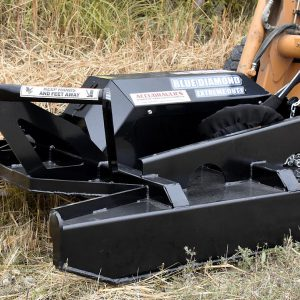 extreme duty skid steer brushcutter