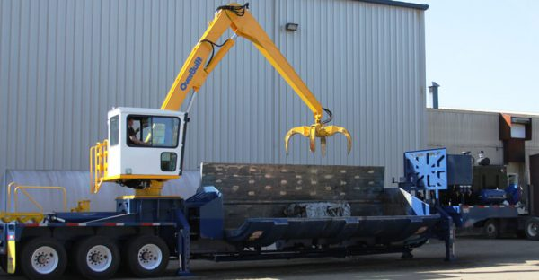 baler logger grab remote use car grapple steel recycling