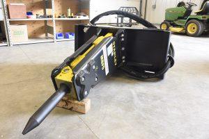 bobcat skic steer breaker in stock for rent