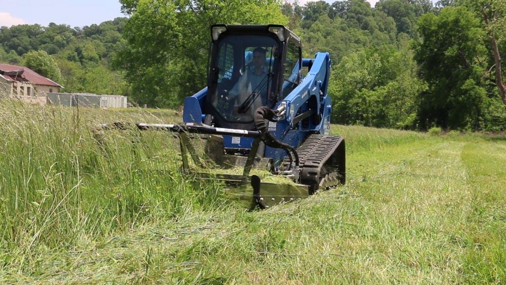 Blue Diamond SEVERE Duty Skid Steer Brushcutter - Accudraulics