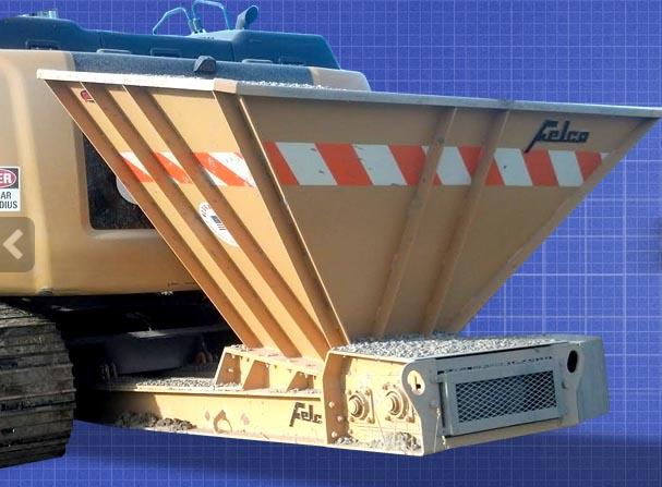 bedding conveyor sunny tight quarters road construction innovative tools attachments