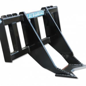 skid steer tree grubber remover attachment blue diamond skid-steer