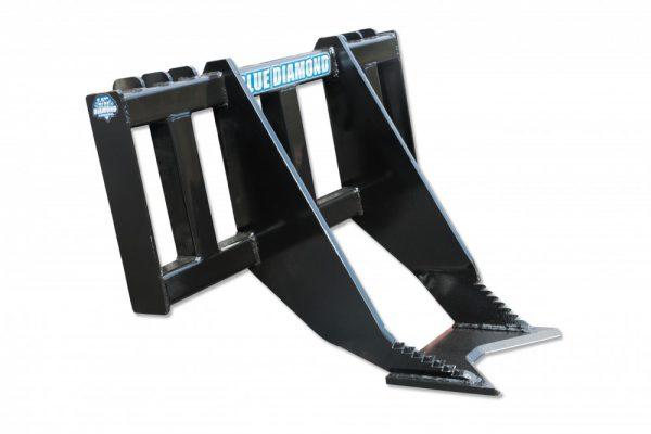 skid steer tree grubber remover attachment blue diamond skid-steer