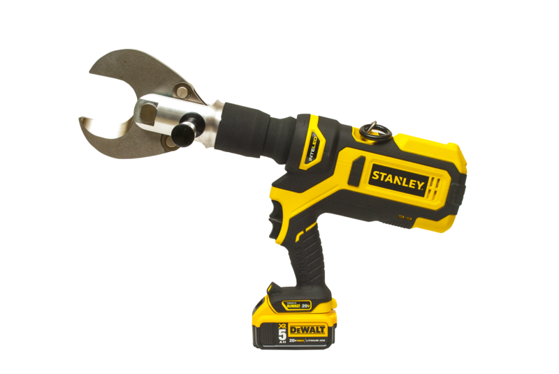 cordless crimpers from Stanley dealers in Manitoba and Saskatchewan