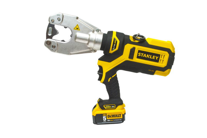 cordless crimpers from Stanley in winnipeg intelliled