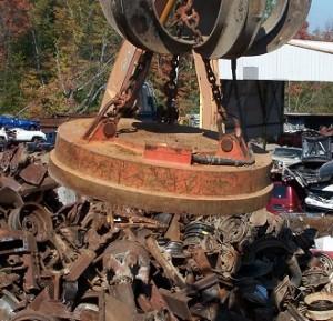 recycling scrap magnets - tools attachments sales rentals hydraulics and more manitoba and saskatchewan
