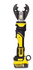 Electric crimper handheld stanley dewalt battery pack