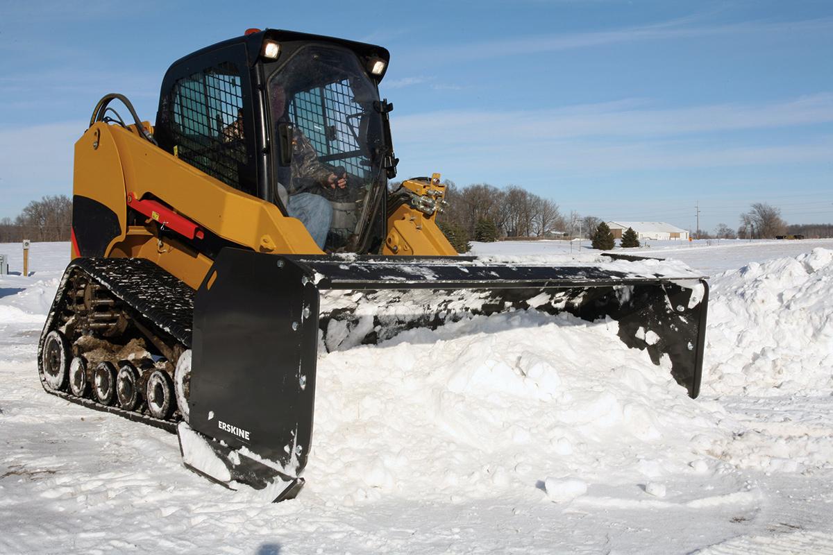erskine reseller of heavy duty snow bucket plow scoop