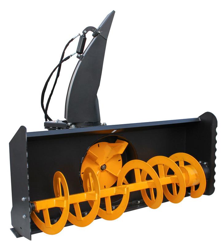skid steer mounted snow blower erskine