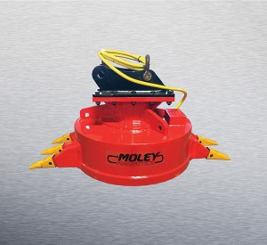 mounted claw magnet from moley