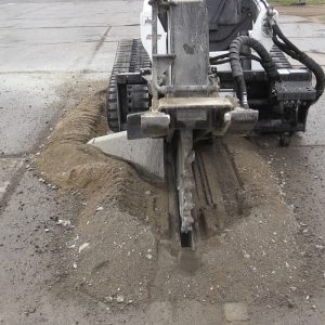hydraulic rock saw heavy duty attachment