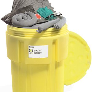 95 gallon oil spill cleanup kit drum