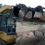 Erskine Industrial Grapple Bucket for Skid Steers