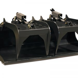 grapple bucket for skid steers by erskine