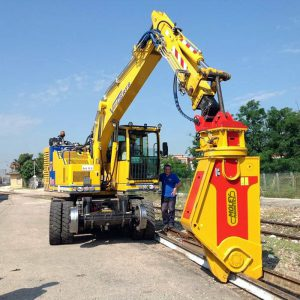 rail cutter shear steel recycling heavy tools sales service