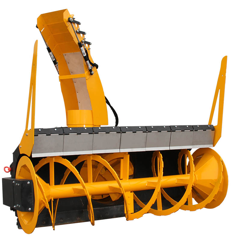 tough hard-working snow removal attachment hydraulic