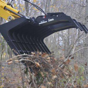 lowe grapple bucket farming skid steer attachment