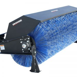 skid steer attachment broom street cleaning blue diamond broom