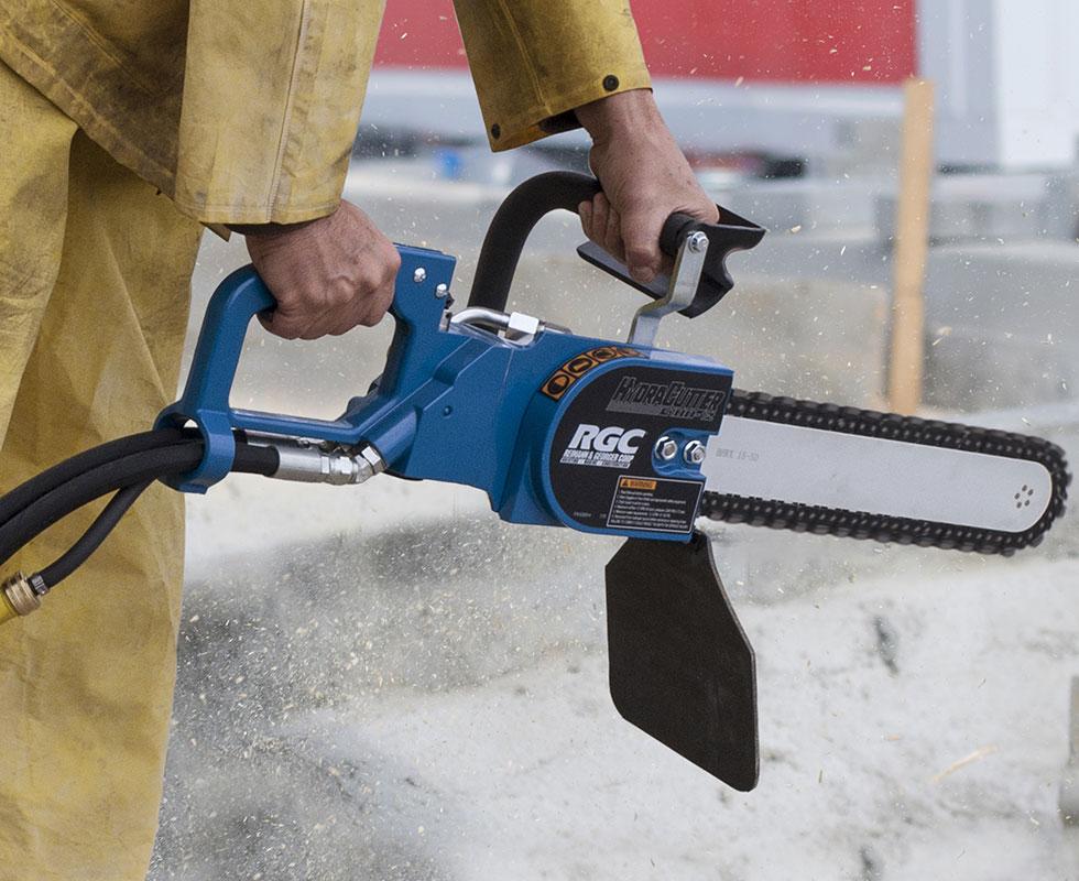 c100 rgc concrete saw