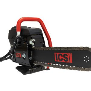 gas powered concrete saw