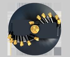 RC 10 Digga auger bits wear